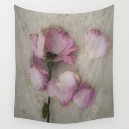 Wilted Rose Wall Tapestry