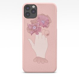 Be a flower not a weed iPhone Case
