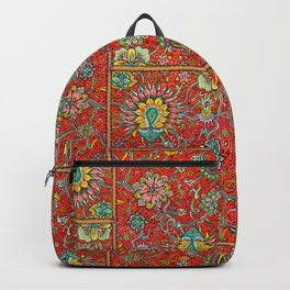 Bursts of India Jacobean - Victorio Road Series Backpack