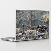 ducks Laptop & iPad Skins featuring Ducks by Italo Martins