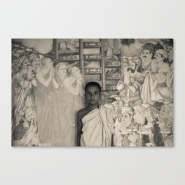 Young Monk Canvas Print