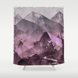 Quartz Mountains Shower Curtain