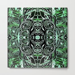 Jade Jungle Metal Print