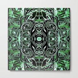 Jade Jungle Metal Print