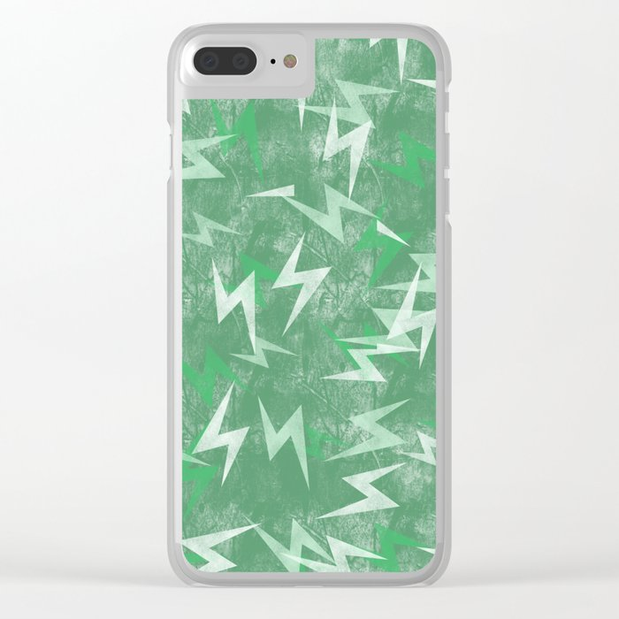 Insomniac Imagery Electric Clear iPhone Case
