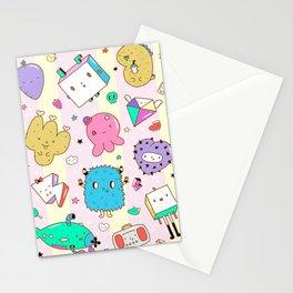 Desk Pattern Stationery Cards