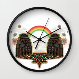 Channel One Soundsystem Vibes Wall Clock