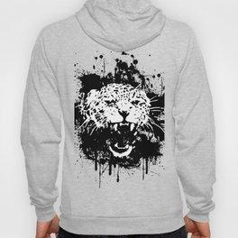 Roaring leopard Hoody
