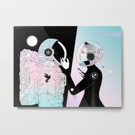 I Found a Place for Us (Summer Pastel) Metal Print