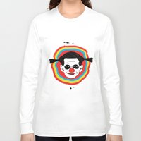 clown Long Sleeve T-shirts featuring CLOWN by julianesc