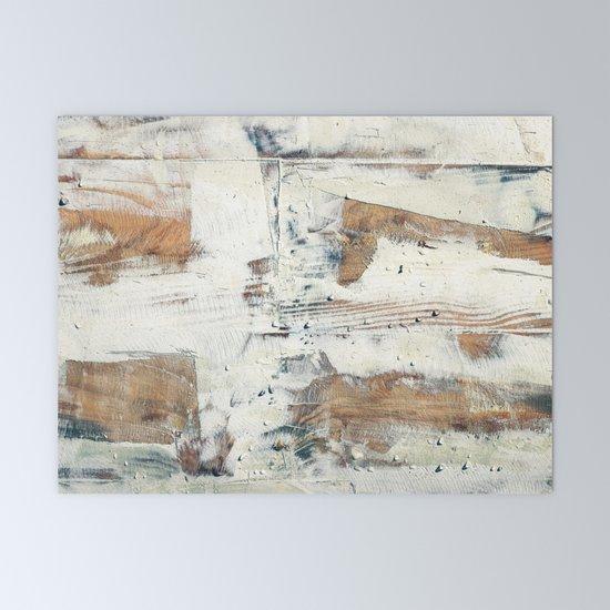 Wood planks epoxy resin repairing shipboard texture Mini Art Print by  textures