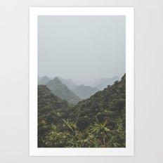 Ha Long Bay II Art Print