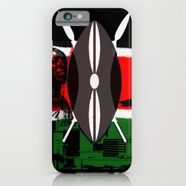Kenya iPhone Case