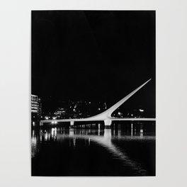 Puente de la Mujer Poster