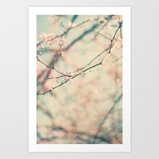 spring #1 (pinky) Art Print