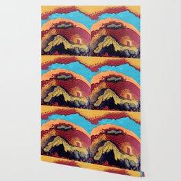 Waves of Debbie Wallpaper