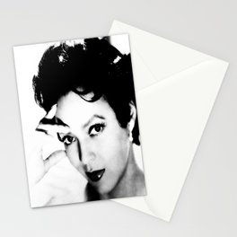 dorothy dandridge black & white photo Stationery Cards