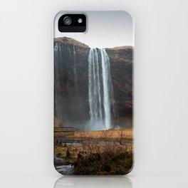 Seljalandsfoss Waterfall, Iceland iPhone Case