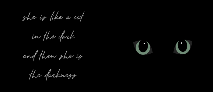 Cat in the Dark Coffee Mug