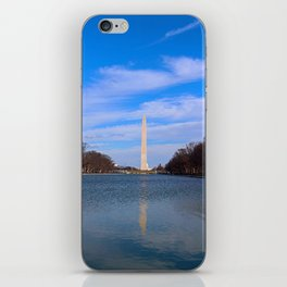 The Washington Monumet On Christmas Day 2017 iPhone Skin