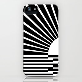 White rays iPhone Case