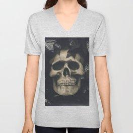 Dark Skull Unisex V-Neck