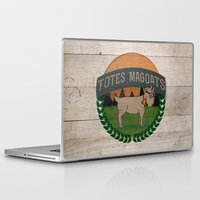 totes Laptop & iPad Skins featuring Totes Magoats by LaurenPyles