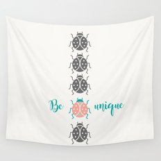 Be unique Wall Tapestry