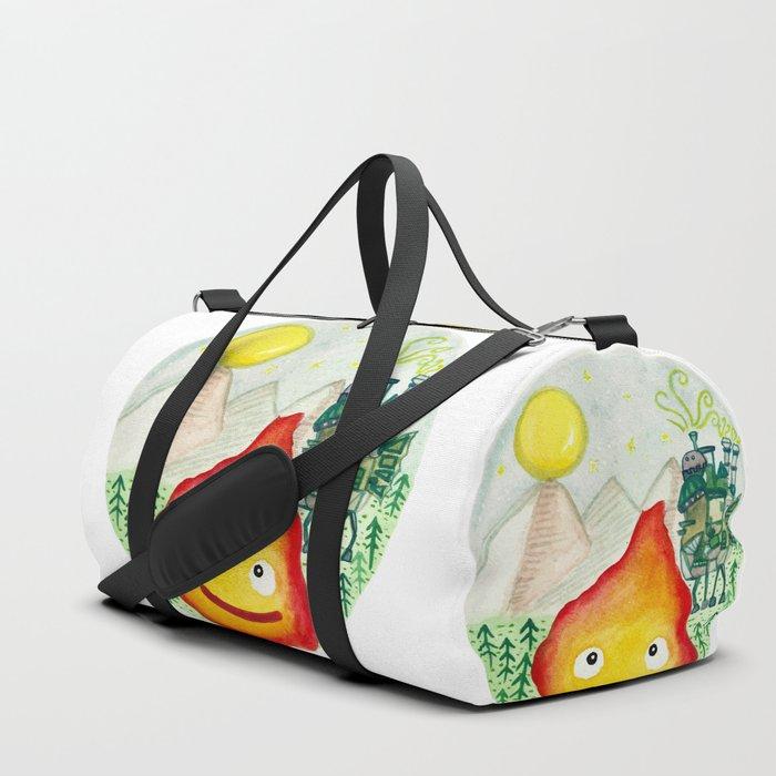 Howl's Moving Castle - Calcifer Duffle Bag