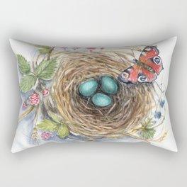 Robin's Nest Rectangular Pillow