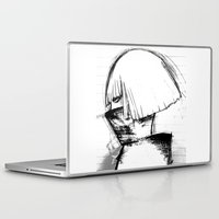 monster inc Laptop & iPad Skins featuring Mother Monster by Manta Inc