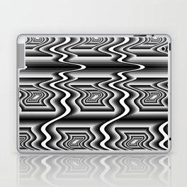 Grey Optical Pattern Laptop & iPad Skin