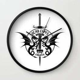 It's lovely day to impale Wall Clock