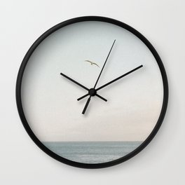 A Break From the Pack in Big Sur Wall Clock