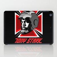 stark iPad Cases featuring Tony Stark by Ant Atomic