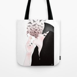 Butterfly&Hurricanes Tote Bag