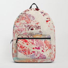 Dallas map Backpack