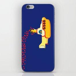 Yellow Submarine Bubbling Love iPhone Skin