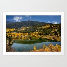 7435 - Autumn in Aspen, Colorado Art Print