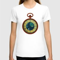 pocket T-shirts featuring Cosmic Pocket Watch by badOdds