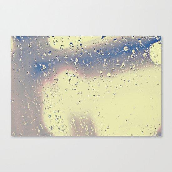 Rainy Drive Canvas Print