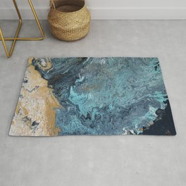 Rupture in the sea Rug