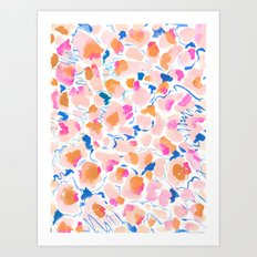 Birthday Confetti Art Print