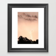 Knot Bolt Framed Art Print