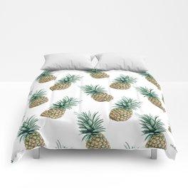 Pineapple - Pattern - Fun! Comforters