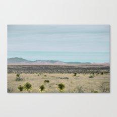 Marfa Miles Canvas Print