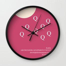 BIRTH - FontLove Wall Clock