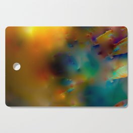 Abstract Convulsions Cutting Board