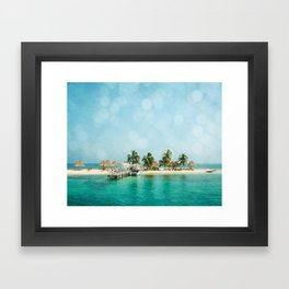 Rendezvous Caye Framed Art Print