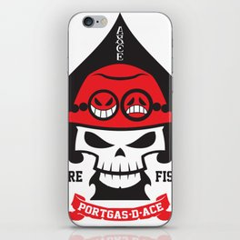 Portgas D. Ace - Fire Fist iPhone Skin